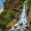 سفر به آبشار رویایی آب سفید؛زیبایی ریزش آب در عروس آبشارهای ایران